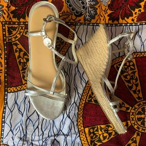 NWOT MIchael Kors Wedge Sandals